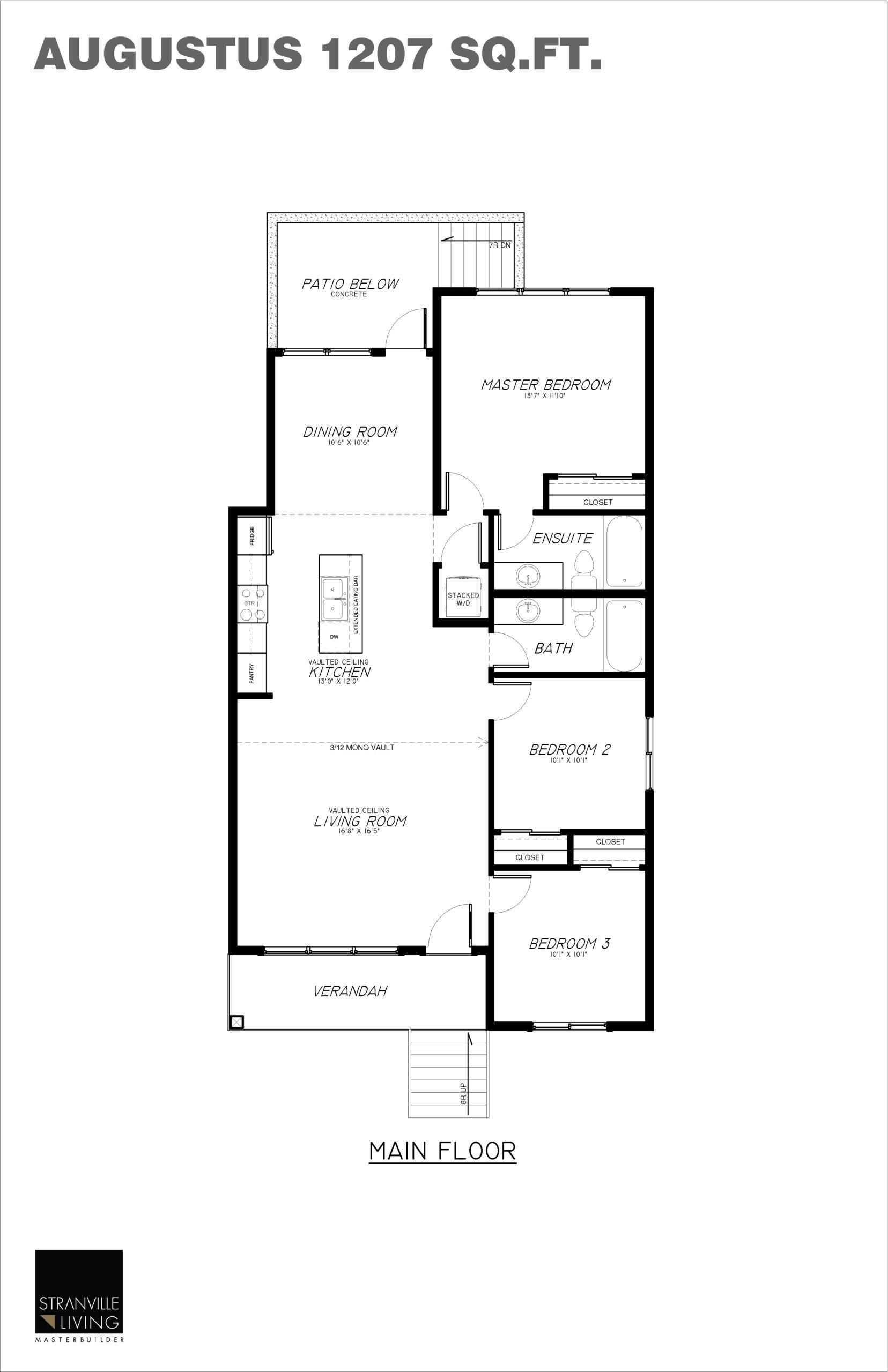 Legally Suited Floorplan